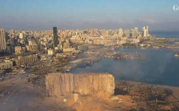 لقطات درون تستعرض حجم الدمارالذي خلفه تفجير بيروت