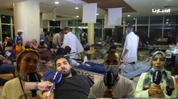 من وجدة.. حملة للتبرع بالدم بالمستشفى الجامعي محمد السادس في ظل خصاص مهول