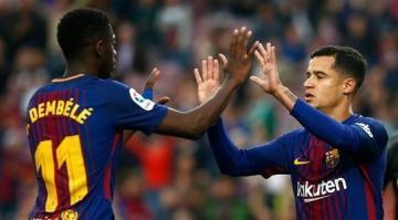 برشلونة يدشن مشواره في أبطال أوروبا بخماسية