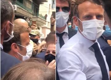 مواطنة لبنانية للرئيس الفرنسي ماكرون: لا تعطي المال للحكومة الفاسدة !