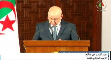 الرئيس الجزائري المؤقت يحدد تاريخا للانتخابات الرئاسية