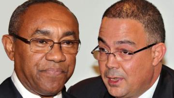 """رئيس """"الكـاف"""" : المغرب لم يقدم لنـا 20 مليون دولار في علبة"""