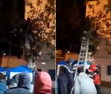 عناصر من الوقاية المدنية تفلح في إنقاذ شاب حاول الانتحار بمدينة شفشاون