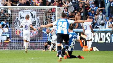 إسبانيول يطيح بريال مدريد ويعرضه لخسارته الثانية على التوالي