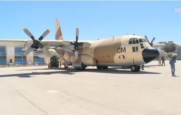 وصول طائرتين مغربيتين محملتين بمساعدات إنسانية عاجلة  للشعب الفلسطيني