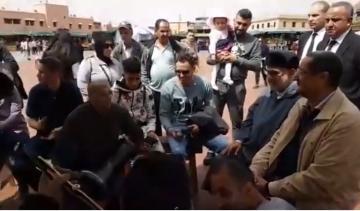 بنكيران بجامع الفنا بمراكش