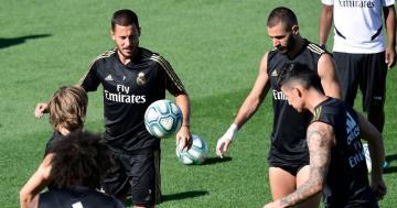 """عودة ثلاثي """"ريال مدريد"""" إلى التدريبات"""