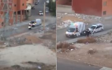 مطاردة هوليودية من طرف الشرطة للقبض على شباب خالفوا الحجر الصحي بمراكش