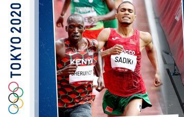 العداء المغربي عبداللطيف صديقي خارج نهائي سباق 1500م رغم تحقيقه أفضل رقم شخصي