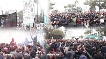 الكورفا سود تنظم وقفة احتجاجية حاشدة وتطالب إدارة الرجاء والمدرب بالرحيل