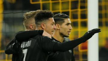 أسيست رائع لحكيمي في مباراة دورتموند وفورتونا دوسلدورف 5-0