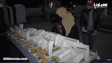 شباب بالصخيرات يطلقون مبادرة رائعة لإيواء وإطعام أشخاص في وضعية الشارع تزامنا مع موجة البرد القارس