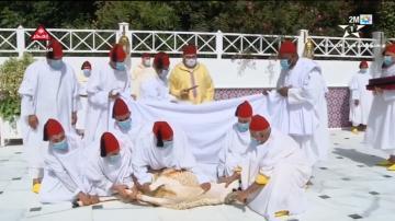 الملك محمد السادس يؤدي صلاة عيد الأضحى ويقوم بنحر أضحية العيد