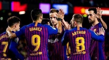 برشلونة يفوز بسهولة على إيبار ورقم جديد لميسي (فيديو)
