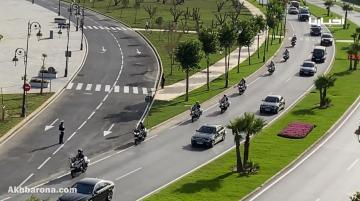 شاهد لحظة وصول الملك محمد السادس إلى مدينة تطوان