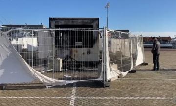 مخربون يضرمون النار في مركز مخصص لإجراء اختبارات كوفيد-19 في هولندا