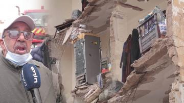 انهيار أربعة منازل بالمدينة القديمة بالدار البيضاء والبحث جاري عن أحد المفقودين