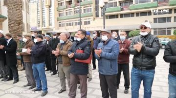 فيديرالية الشغل تنظم وقفة دفاعا عن الكرامة