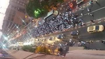 مسيرة حاشدة للأساتذة المتعاقدين في مراكش