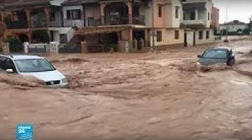 مشاهد مخيفة من الفيضانات التي اجتاحت ليومين جنوب شرق إسبانيا