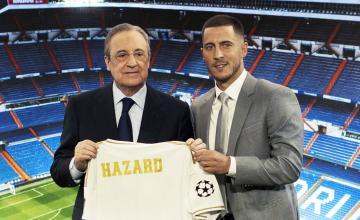 """هازار يتمنى """"الفوز بالكثير من الألقاب"""" مع ريال مدريد (فيديو التقديم الرسمي)"""