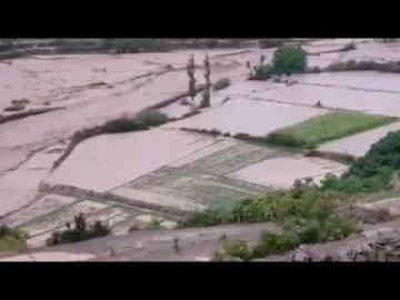 فيضانات غير مسبوقة تضرب منطقة تامجيلت بالجماعة الترابية بركين بإقليم كرسيف