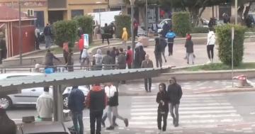 حراكة يحولون مدخل مدينة مليلية المحتلة إلى حلبة للاشتباكات اليومية