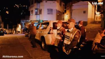 أمن تطوان يحاصر مخالفي حالة الطوارئ في الشوارع واﻷحياء الشعبية
