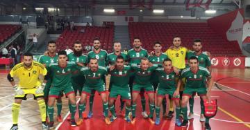 كأس العرب لكرة قدم الصالات ... المنتخب المغربي في المجموعة الثانية