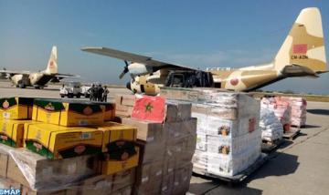 وصول الدفعة الأولى للمساعدات الغذائية الموجهة لفائدة القوات المسلحة اللبنانية والشعب اللبناني