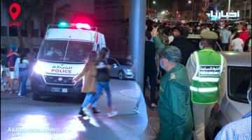 شاهد تدخل السلطات الأمنية لتفريق احتفالات بوجلود بأكادير