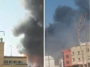 انفجار قـوي يهز منطقة بئر الرامي بالقنيطرة