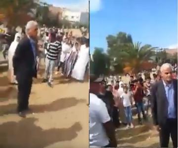 سكان سيدي قاسم يحاصرون رئيس جماعة