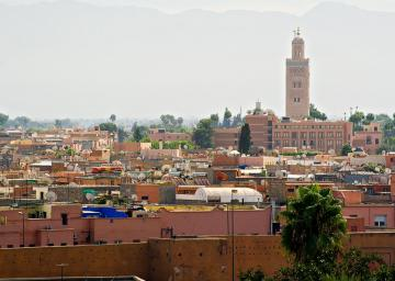 المدينة القديمة في مراكش