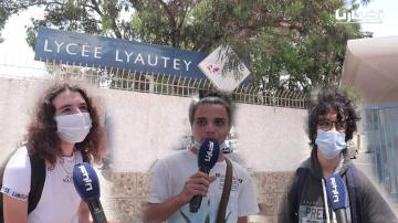 """تصريحات مثيرة وغير متوقعة حول امتحانات الباكالوريا لتلاميذ أشهر مدرسة في المغرب """"ليسى ليوطي"""""""