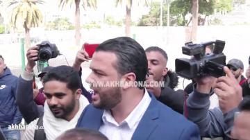 """شاهد النقاش الحاد الذي وقع بين أنصار ناصر الزفزافي ويوسف الزروالي بسبب """"عاش الملك"""""""