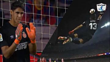 حارس عرين الأسود يتعملق ويصنع التاريخ مع فريقه أمام برشلونة