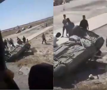 مصرع سيدة و إصابة شخصين في حادثة سير مروعة نواحي جرسيف