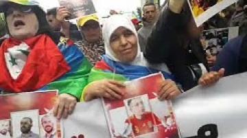 عائلات المعتقلين يتقدمون مسيرة الرباط للتنديد بأحكام الريف