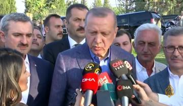 أردوغان ينعى مرسي وينتقد السيسي