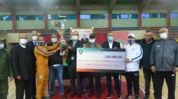 فتح سطات يحرز لقب البطولة الوطنية