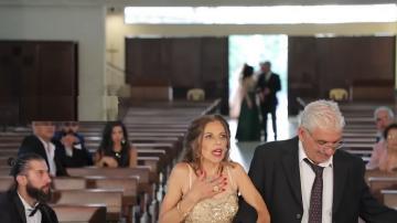 فيديو يوثق لحظة رعب 3 عرائس لبنانيات فى ليلة العمر بسبب تفجيرات بيروت