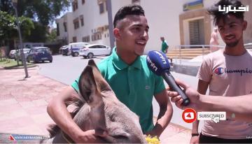 شاب مغربي غريب الأطوار في تصريح غريب