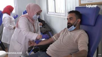 من أجل انقاذ الأرواح.. شباب بالبيضاء يطلقون حملة للتبرع بالدم