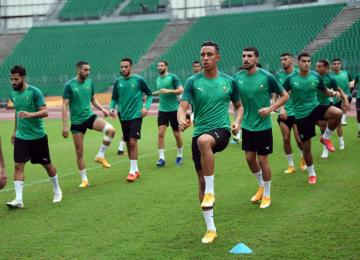فيديو آخر حصة تدريبية قبل مباراة إفريقيا الوسطى