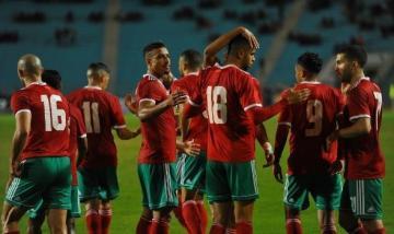 بالفيديو: المنتخب المغربي يهزم تونس في عقر دارها بهدف النصيري