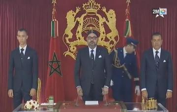 الخطاب الملكي بمناسبة تورة الملك والشعب