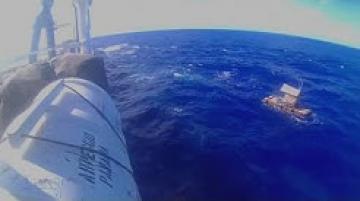 انقاذ مراهق قضى 49 يوما تائها في عرض البحر