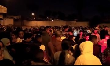 بالرغم من المنع ...مواطنون يتحدون حالة الطوارئ وينظمون احتفالات بوجلود بأكادير