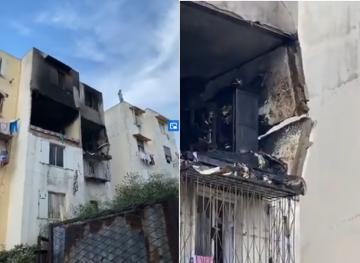 انفجار قنينة غاز بإقامة سكنية في الحي المحمدي بالبيضاء